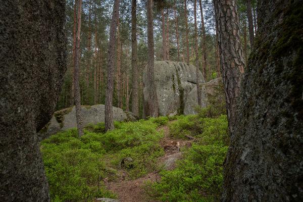 Bizzare Felsformationen und sagenhafte Granit-Flusslandschaften im Lerautal
