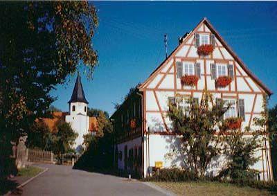 Sankt-Blasius Kirche in Lichtenstein-Holzelfingen