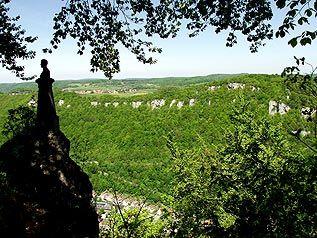 Traifelbergfelsen bei Lichtenstein