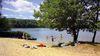 Naturcampingplatz am Springsee - Strand