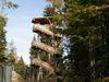 Aussichtsturm beim Haus zur Wildnis in Ludwigsthal