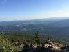 Herrlicher Ausblick vom Großen Falkenstein über den Nationalpark Bayerischer Wald