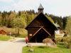 Die Filialkirche St. Stephanus in Spiegelhütte in der Gemeinde Lindberg