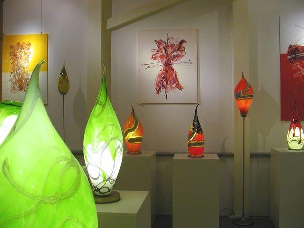 Lampen in allen Variationen aus der Glasbläserei Schmid