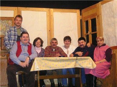 Die Laiendarsteller der Heimatbühne Oberzwieselau