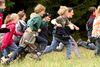 Kinderspaß im Wildniscamp am Falkenstein