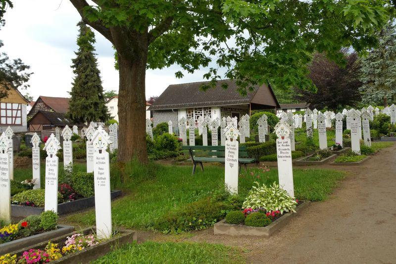 Stickelfriedhof Lindenfels-Schlierbach
