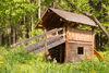 Spielhaus bei der Grillstelle Seewiese in Bachheim