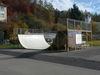Halfpipe im Skaterpark