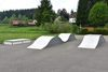 angrenzender Skaterpark