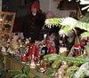 Weihnachtsdeko beim Christkindlmarkt in Lohberg