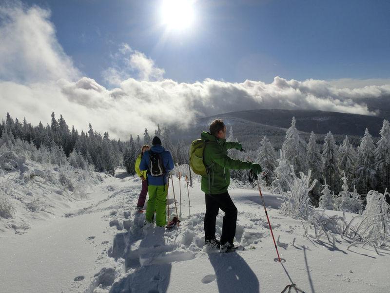 Schneeschuh Touren In Lohberg Bayerischer Wald