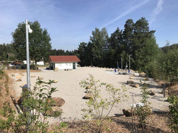 Wohnmobilstellplatz Lohberg im Naturpark Oberer Bayerischer Wald