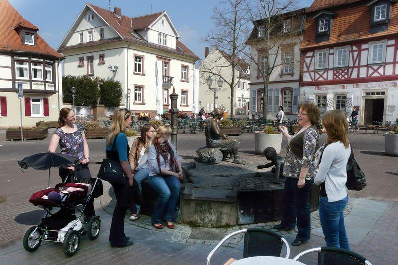 Tabakbrunnen - Station der Stadtführung