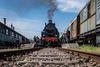 Historische Eisenbahn im Erlebnisbahnhof Losheim am See
