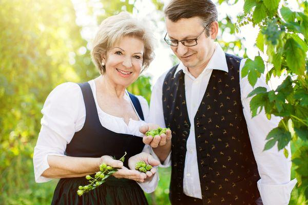 Ilse und Hans Peter Lutzenburger