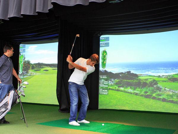 High Definition Golf Simulatoren - auch für Anfänger geeignet...