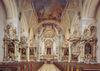 Der Altar der Pfarrkirche St. Johannes in Mallersdorf-Pfaffenberg