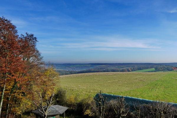 Blick ins Mandelbachtal Richtung Erfweiler-Ehlingen
