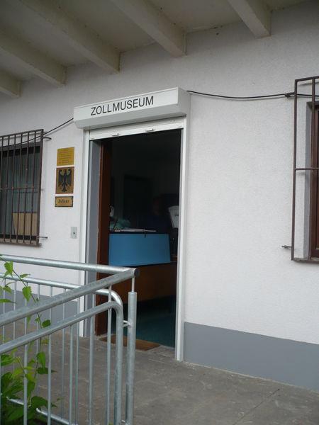 Eingang zum Zollmuseum in Habkirchen