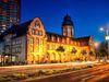Mannheim, Veranstaltungsort: Alte Feuerwache bei Nacht