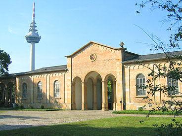 Mannheim, Hauptfriedhof und jüdischer Friedhof
