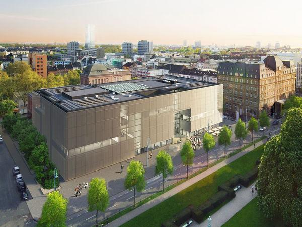 Der spektakuläre Neubau der Kunsthalle
