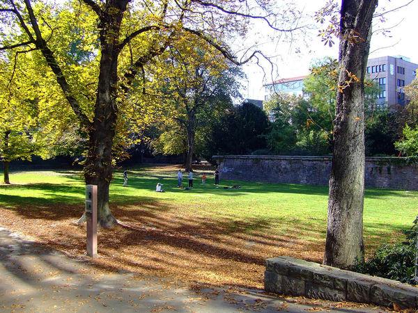 Lauersche Gärten in Mannheim