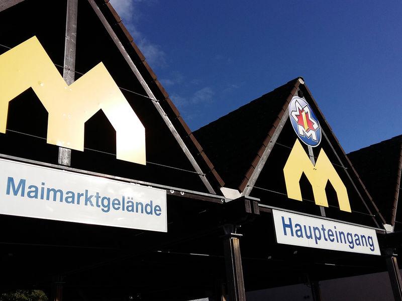 Mannheim, Veranstaltungsort: Maimarktgelände Mannheim, Eingangsbereich