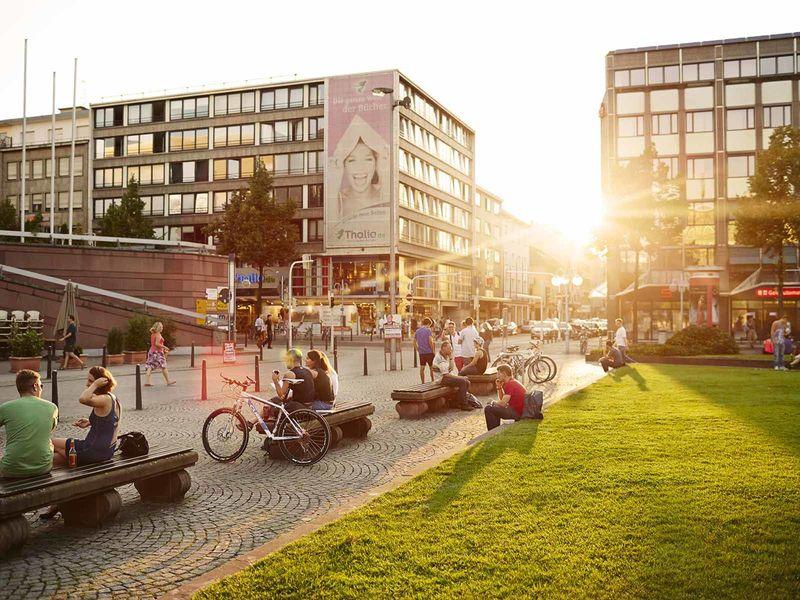 Mannheim, Paradeplatz