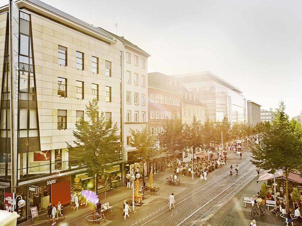 Mannheim Planken, shopping street