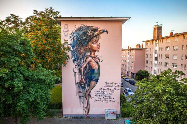 Mural in F6, 1-5, © Alexander Krziwanie