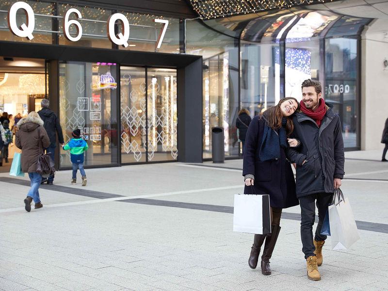 Mannheim Shopping, Q 6 Q 7