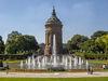 Mannheim, Wasserturm mit Augustaanlage
