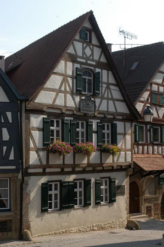 Schillers Geburtshaus