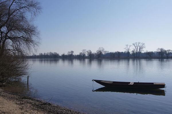 Mariaposching liegt idyllisch an der Donau