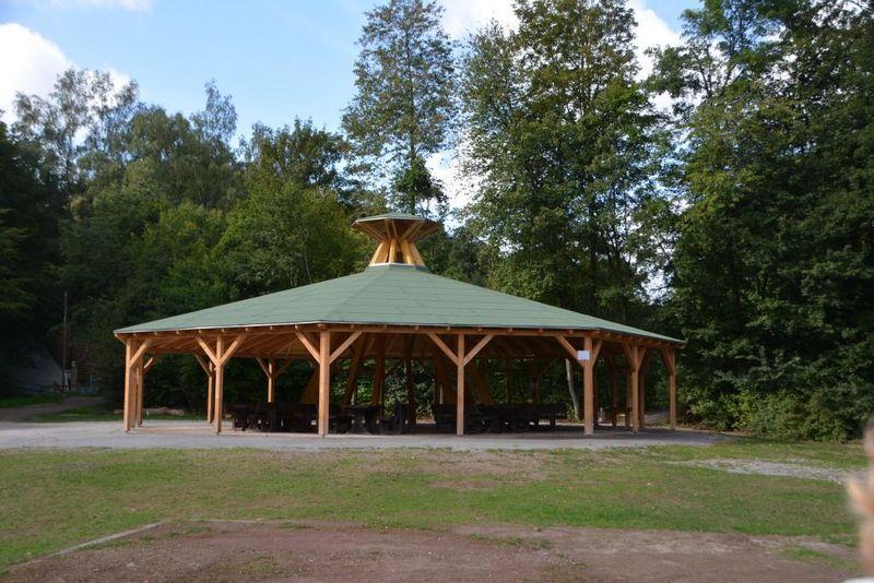 Pavillon Informationszentrum regionale Montanindustrie, Geologie und Bionik
