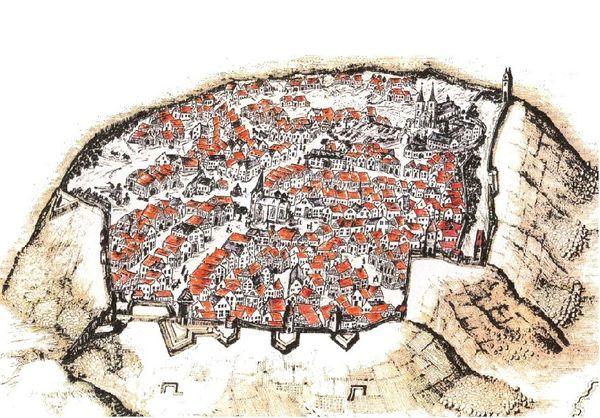 Grafik Historisches Obermarsberg