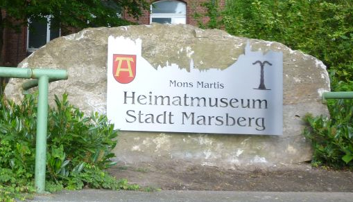 Eingang Museum der Stadt Marsberg