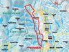 Streckenführung der Dreikönigsloipe Mauth in der Nationalparkregion