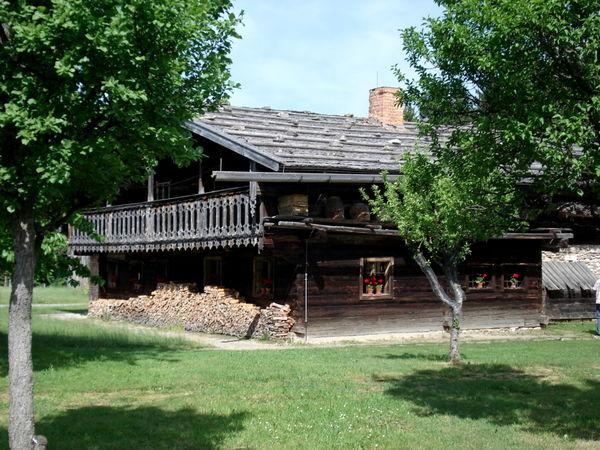 Bauernhof im Freilichtmuseum Finsterau bei Mauth