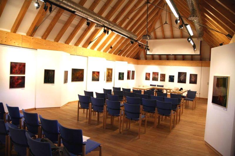 Ausstellungssaal in der Nationalpark-Infostelle in Mauth