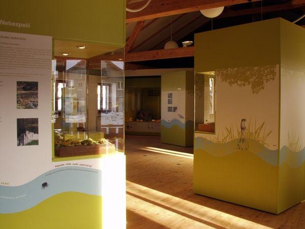 Ausstellung im Otterhaus Bayern in Mauth im Nationalpark Bayerischer Wald