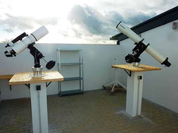 Teleskope der Sternwarte Meckesheim
