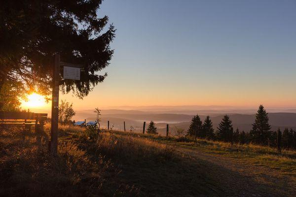 Sonnenaufgang am Kalied