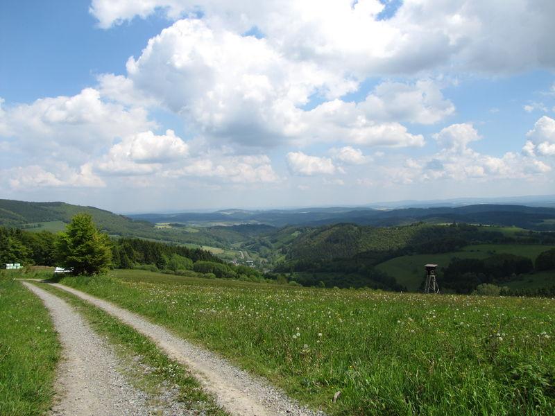 Aussicht am Krutenberg