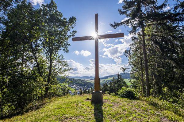Aussicht vom Opolt in Dreislar