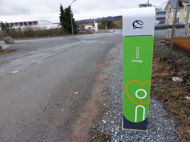 RWE-Ladepunkt für Elektroautos