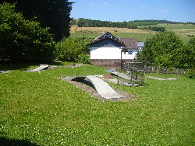 Minigolf in Deifeld