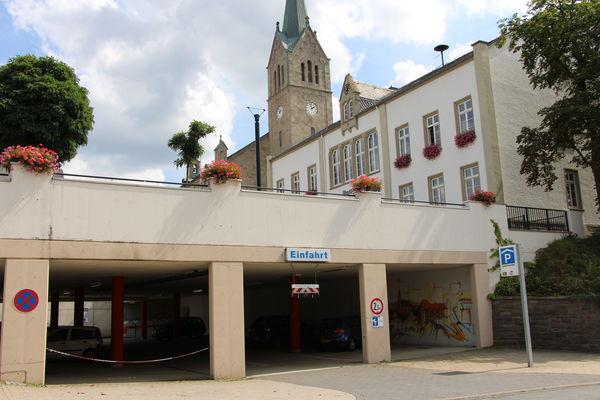 Parkgarage Marktplatz